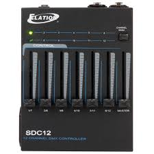 12 channel dmx controller