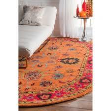 gorgeous awesome area braided grey orange rug green blue pic of kitchen orange kitchen rugs