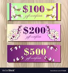 Sakura Designs Coupon Code Voucher Gift Certificate Coupon Template Spring