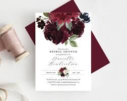 Diy Invitation Template Diy Fall Wedding Invitations Bridal Shower Invitation