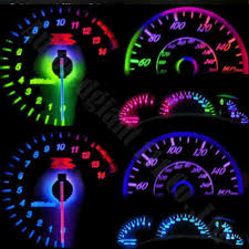 25x 7colors Bright Dashboard T5 Led Light 73 286 Wedge
