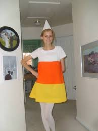 halloween candy corn costume. Beautiful Candy Adult Candy Cornuse And Old White Tee For The Top To Halloween Candy Corn Costume