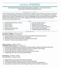 Art Gallery Manager Resume Sample Manager Resumes Livecareer