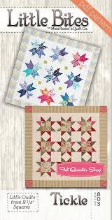Miss Rosie's Quilt Company   Fat Quarter Shop & Tickle Little Bites Downloadable PDF Quilt Pattern Miss Rosie's Quilt  Company Adamdwight.com