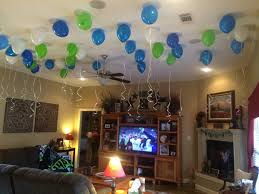 How To Decorate A Bowl Super Bowl Football Birthday Party Balloons Cool Banquet Birthday 51