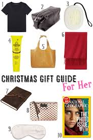 Christmas Gift Ideas For A Seasoned Traveller For Her  First Christmas Gifts For Her 2014