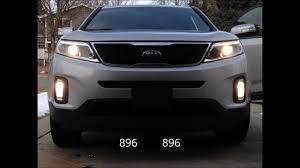 Fog Lights For 2019 Kia Sorento 2014 Kia Sorento Fog Lights Youtube