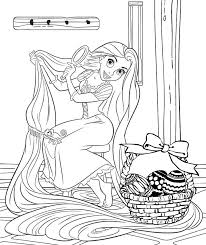 Disney Princesses Easter Coloring Pages Print Coloring