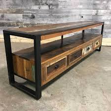 recycled industrial furniture. Stylish Recycled Wood 4 Drawer Tv Stand Industrial Furniture E
