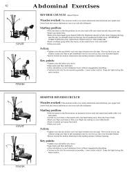 Bowflex Exercise Wall Chart 25 Problem Solving Bowflex Wall Chart