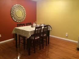 Unique Dining Room Paint Ideas With Accent Wall Living Further What Color Curtains Go For