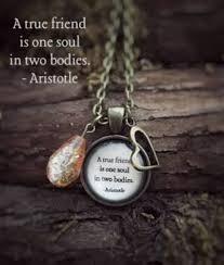 a true friend is one soul in two bos