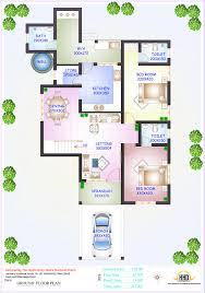 150 Square Feet Room Floor Plan And Elevation Of 2336 Sqfeet 4 Bedroom House Home