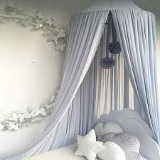 4 Color Mosquito Net Bed Canopy Yarn Chiffon Play Tent Bedding for Kids Playing Reading Dome Netting Curtains Baby Boys and Girls Games House