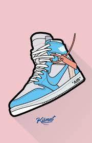Off-White x Air Jordan 1 Wallpaper ...