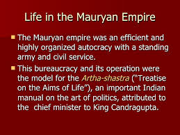 the mauryan empire and the sp of buddhism