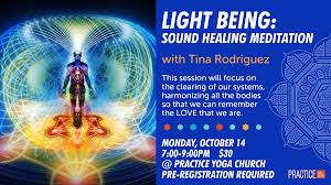 Light And Sound Meditation Method Light Being Sound Healing Meditation Practice Yoga Austin