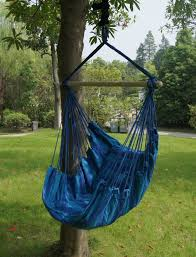 SueSport Hanging Rope Chair -Max.265 Lbs, Blue - YouTube