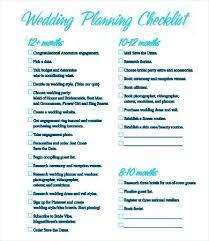 wedding planning checklist template printable wedding checklist noshot info