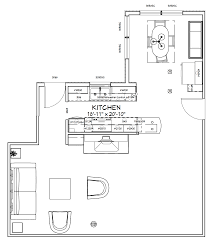 galley kitchen floor plan before