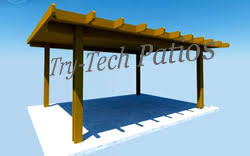 free standing lean to patio cover. Simple Patio Freestanding Great For Areas Away From The Home Over Outdoor Kitchens Or  Hot Tubs TryTech Patios Does Not Supply Steel Posts That Need To Be Poured  In Free Standing Lean To Patio Cover E