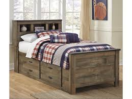 twin beds with storage. Exellent With Trendz TrevorTwin Bookcase Bed With Under Storage  In Twin Beds With U