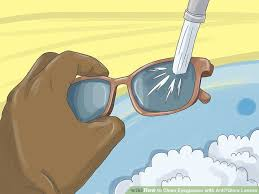 image titled clean eyeglasses with anti glare lenses step 2