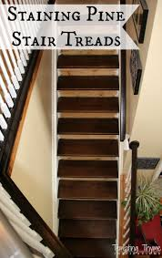 Carpet To Hardwood Stairs Best 25 Staining Stairs Ideas On Pinterest Rustic Man Cave