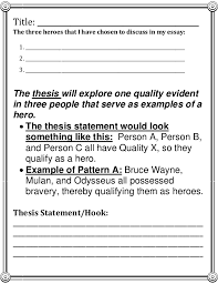 hero essay thesis how to organize a what is a hero essay quora