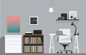 home office cool office. Brilliant Office Office Illustration Super Cool Home  For Home Office Cool