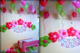 balloon decoration ideas for 1st birthday party best purple