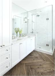 vinyl plank bathroom herringbone pattern waterproof wood floor girl flooring in pros and cons