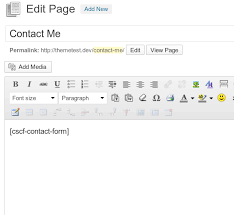 simple contact form contact form clean and simple wordpress org
