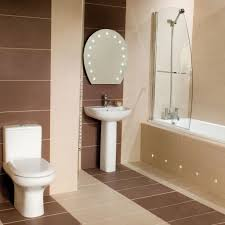Attractive Bathroom Tiles Small Space for House Design Ideas with ...