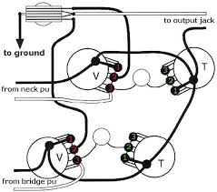 mod garage decouple your les paul s volume controls  wiring diagram courtesy of singlecoil com