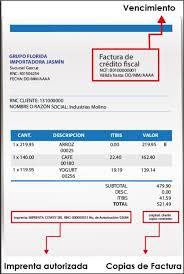 Formatos De Factura Formatos De Facturas Nueva Secuencia De Los Ncf Inicia Mayo