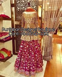 Designer Lehenga Facebook Lehenga Choli Facebook Punjaban Designer Boutique