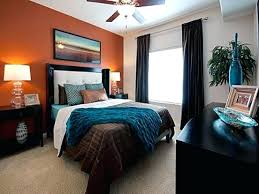 teal and brown bedroom ideas teal brown bedroom the orange accent wall with teal and brown teal and brown