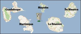 carte runion mayotte