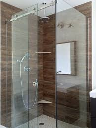 sliding shower doors and enclosures door a corner sliding shower glass enclosure with two fixed panels shower doors why semi sliding glass