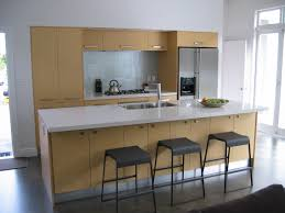 Small Kitchen Island With Seating For - One wall kitchen designs
