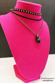 swarovski bengal cross black pendant