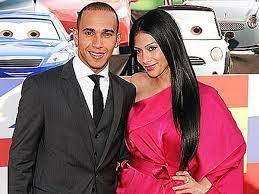 Lewis Hamilton and Nicole Scherzinger ...