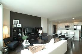 home office accent wall living room contemporary with decorative pillows black and white alcove contemporary home office
