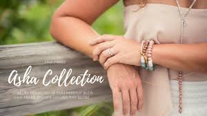 asha fair trade jewelry collection by chelsea bond