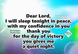 Good Night Prayer Quotes Gorgeous Short Prayer For Sleeping At Night Prayer Of The Night Short