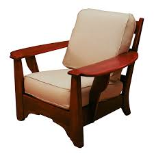 1stdibs com club chair with paddle arms make the cushions in this shape for