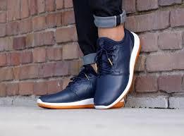 men nike roshe two leather prm obsidian obsidian white gum shoes mens