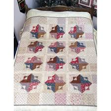403 best French General images on Pinterest | Patchwork, Beautiful ... & Cotton Theory Then & Now Petite Odile Quilt Kit Adamdwight.com