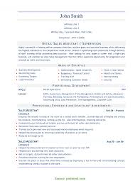 Sample Resume For Aldi Retail Assistant cv for retail sales assistant Eczasolinfco 18
